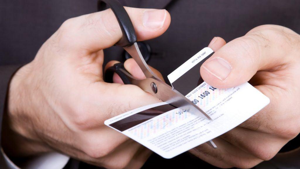 cancelar la tarjeta de crédito