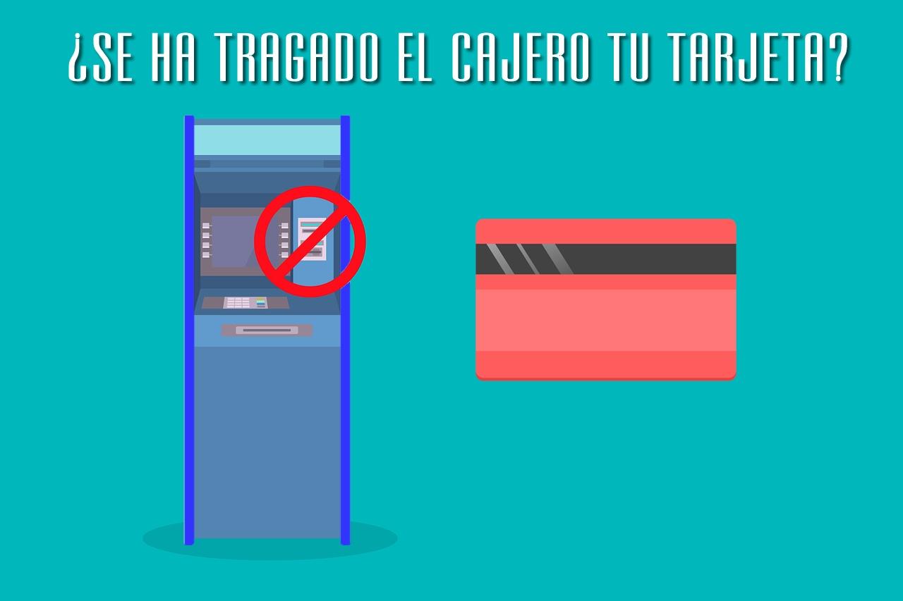 tarjeta tragada por cajero automatico