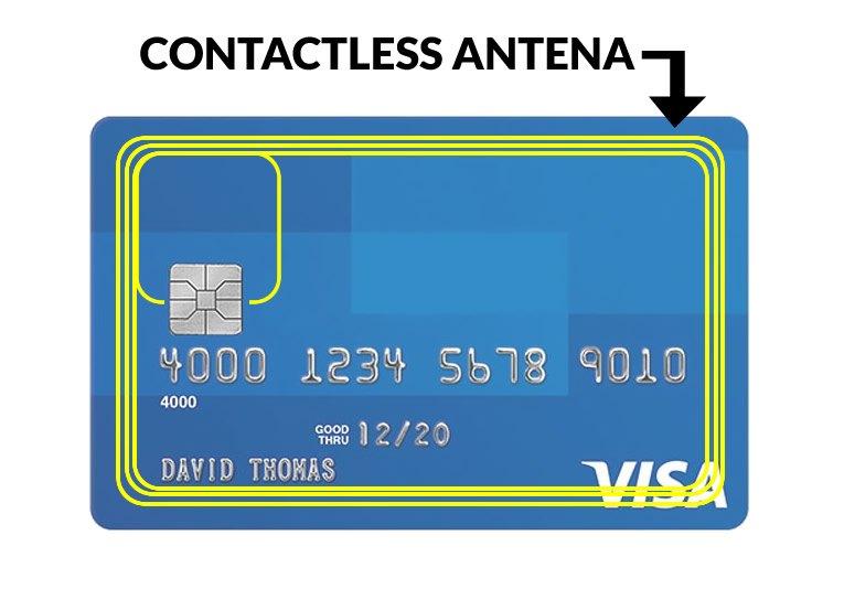 antena contactless