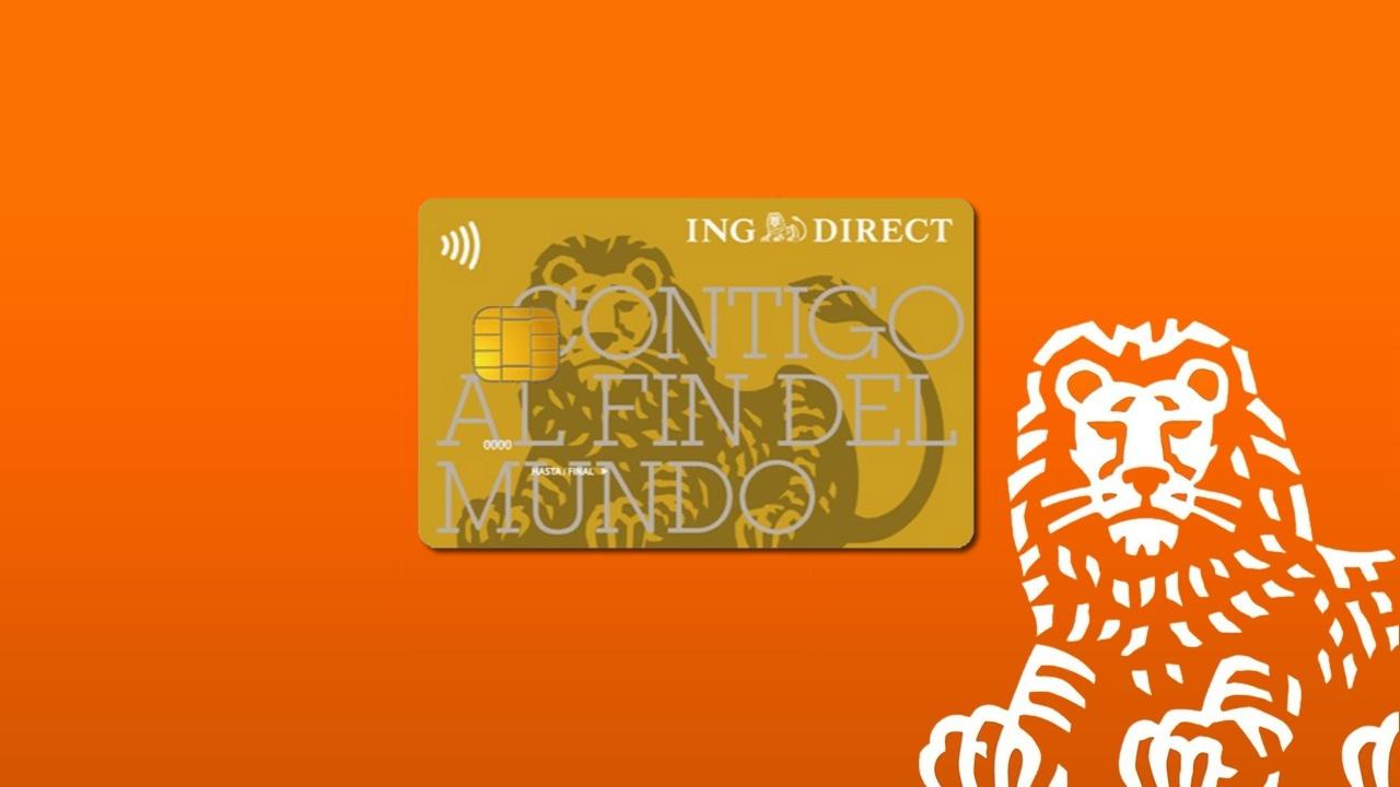tarjeta de credito ing