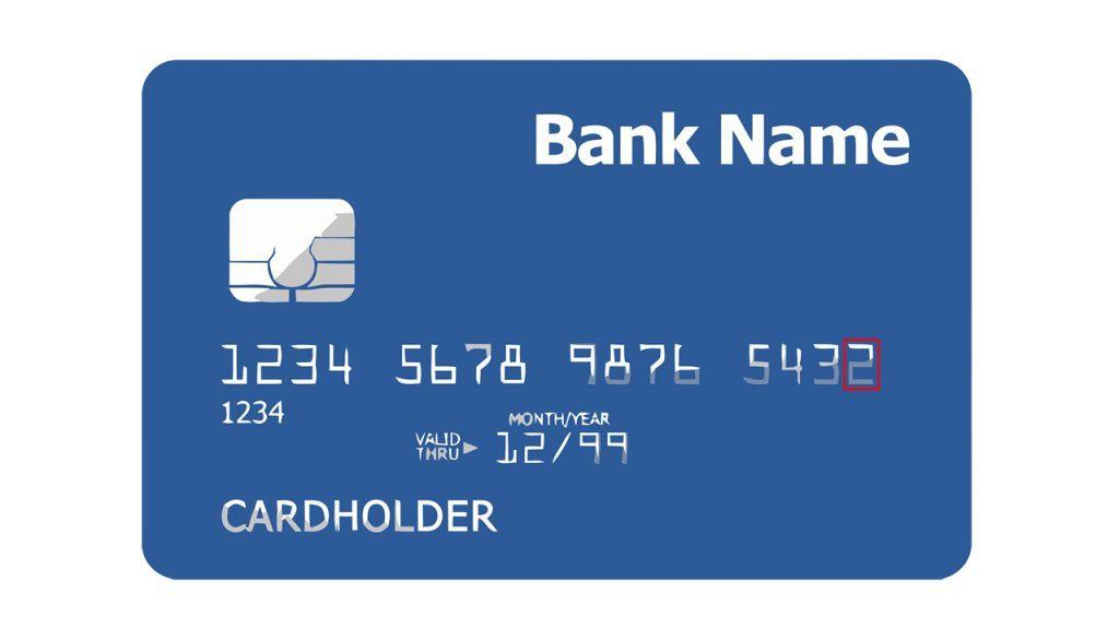 digito de control de la tarjeta