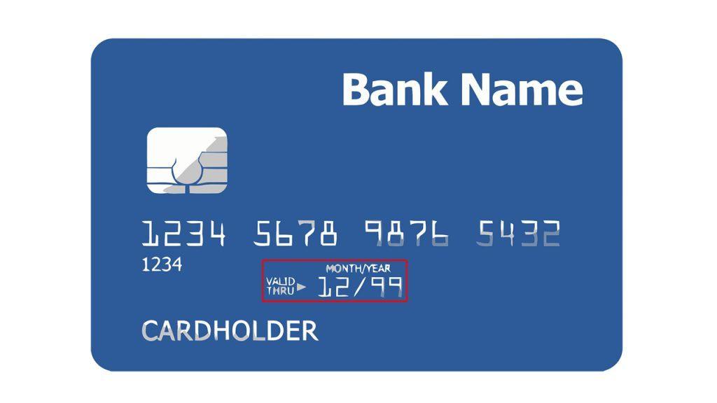 fecha de caducidad y validez de la tarjeta