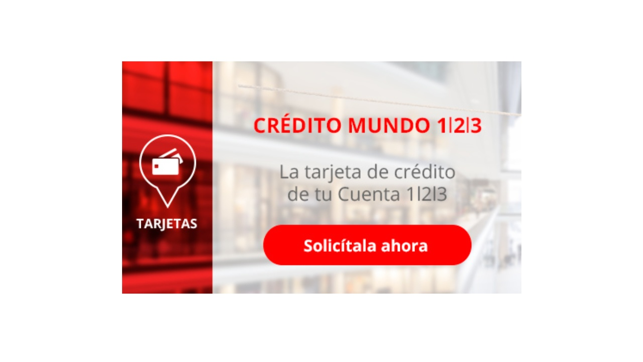 tarjeta credito mundo 123