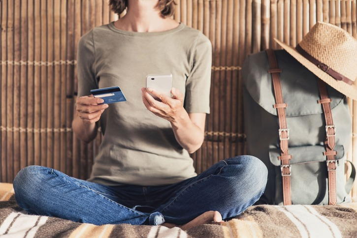 cómo usar una tarjeta de crédito: compras online
