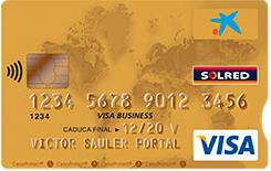 Tarjeta Visa Oro Business Solred