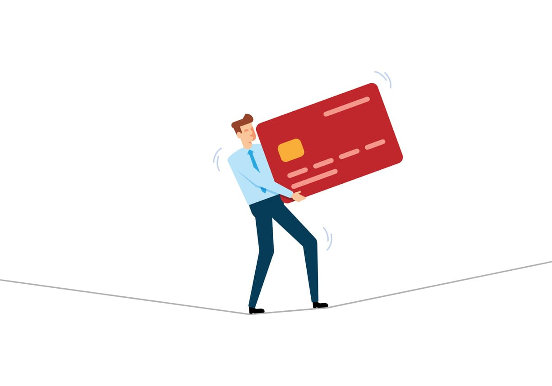 deudas de tarjeta de crédito
