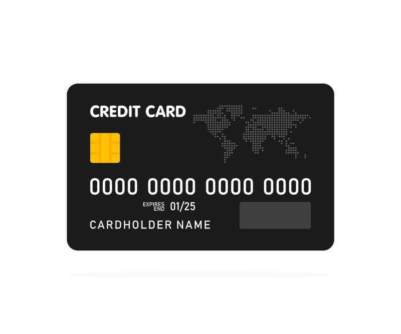 IBAN en tarjeta