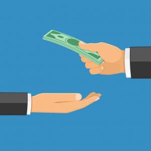 pedir dinero prestado